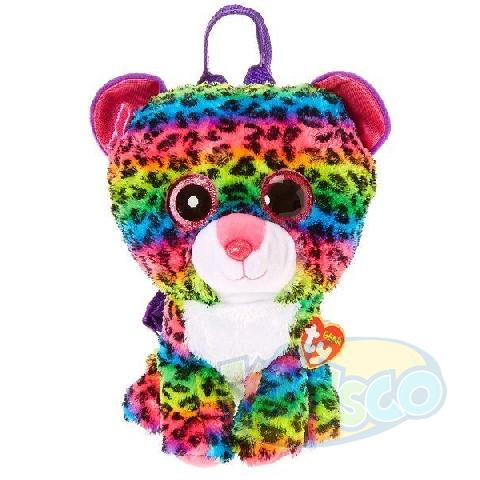TG DOTTY - multicolor leopard 25 cm (backpack)