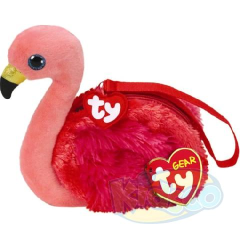 TG GILDA - flamingó 15 cm (shoulder bag)