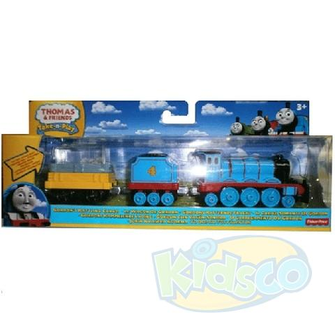 Thomas: Locomotiva si vagon de metal asortat