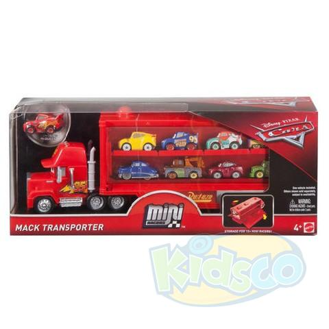 "Transportator Mini-Eroi ""Cars 3"""