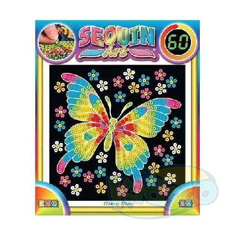 SEQUIN ART - 60 BUTTERFLY